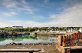 портпатрик гавань в летний день — Стоковое фото