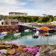 Boats in Portpatrick harbour — Stock Photo