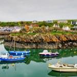 Boats in Portpatrick harbour — Stock Photo #27818961