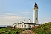 Lighthouse on the Mull of Galloway — Stock Photo