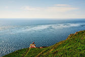 Mull of Galloway with Fog Horn — Стоковое фото