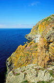 Cliffs on the Mull of Galloway — Stock Photo