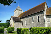 St Andrews Church, Bishopstone — Stock Photo
