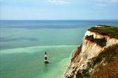Deniz feneri beachy head — Stok fotoğraf