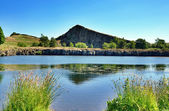 Cawfields Quarry by Hadrians Wall — Stock Photo