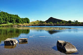 View of Cawfields Quarry, Hadrians Wall — Stock Photo