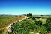 Hadrians Wall, Northumberland — Stock Photo