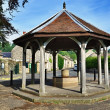 Bandstand in Ashford-In-The-Water, Derbyshire — Stock Photo