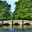 Sheepwash Bridge, Ashford-In-The-Water — Stock Photo