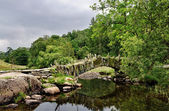 Packhorse bridge at Little Langdale — Stock Photo