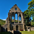Stock Photo: Valle Crucis Abbey at Llantysilio,Wales