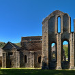 Valle Crucis Abbey at Llantysilio — Stock Photo