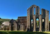 Valle Crucis Abbey at Llantysilio — Stock Photo