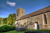 Troutbeck Church in sunshine — Stockfoto