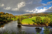 River Lune in Kirkby Lonsdale — Stock Photo