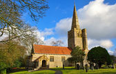 St Peters Church, Field Broughton — Foto Stock