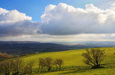 Lyth Valley in Cumbria — Stock Photo