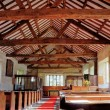 Interior of St Anthonys Church, Cartmel Fell — Stock Photo