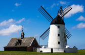 Windmill at Lytham-st-Annes — Stock Photo