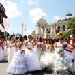 Bride Parade - Foto Stock