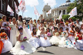 Bride Parade — Stock Photo