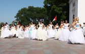 Bride Parade — Stock Photo