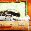 Vintage Suitcase  — Stock Photo