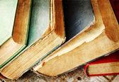 Vintage books — Stock Photo