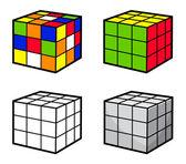 Cube Puzzle — Stockvektor