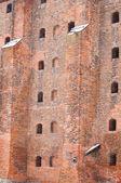 Teutonic castle wall — Stock Photo