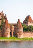 Malbork kasteel — Stockfoto