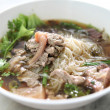 Stock Photo: Beef noodle