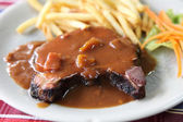 Filet mignon beef steak — Stock Photo