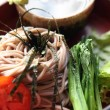 Soba noodle — Stock Photo