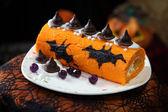 Halloween cake — Stock Photo