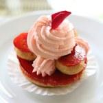 Rose cake — Stock Photo