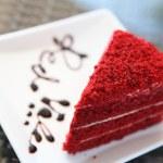 Red velvet — Stock Photo #14571093