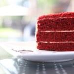 Red velvet — Stock Photo