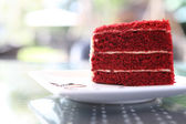 Terciopelo rojo — Foto de Stock
