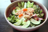 Salad japanese style with tuna — Stock Photo