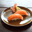 Salmon Sushi — Stock Photo