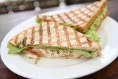 Sandwich au poulet rôti — Photo
