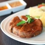 Fried minced pork vietnamese style — Stock Photo