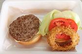 Beef Hamburger — Stock Photo