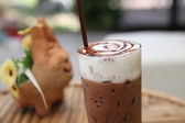 Ice chocolate — Stockfoto
