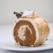 Coffee roll cake — Stock Photo #28336999