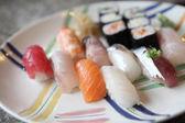 Mix sushi — Stock Photo