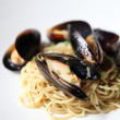 Spaghetti with mussels — Stock Photo #32471151