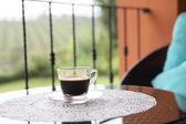 Café na natureza — Foto Stock