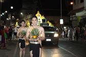 CHIANGMAI THAILAND - NOVEMBER 18 : Loy Krathong festival, celebr — Stock fotografie